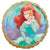 "114 Ariel Once Upon a Time 17"" Mylar Balloon"