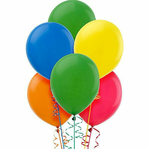 Assorted Color Latex Balloons 15ct, 12in