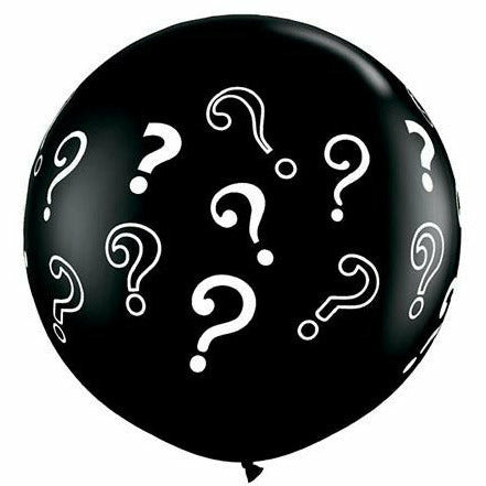 "Baby Question Mark 36"" Latex Balloon"