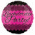 "Pink Bachelorette Party 17"" Mylar Balloon"