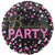 "565 Black & Pink Bachelorette Party 18"" Mylar Balloon"