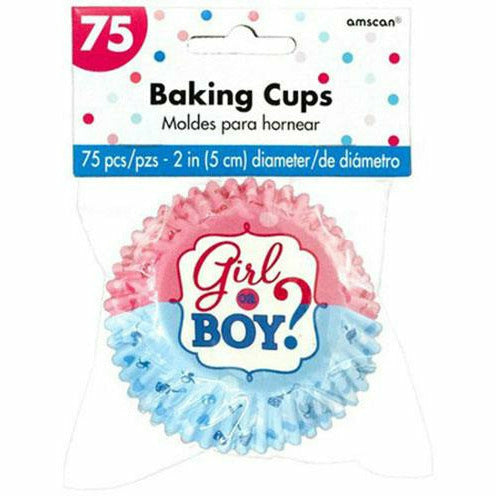 Boy or Girl Baking Cups