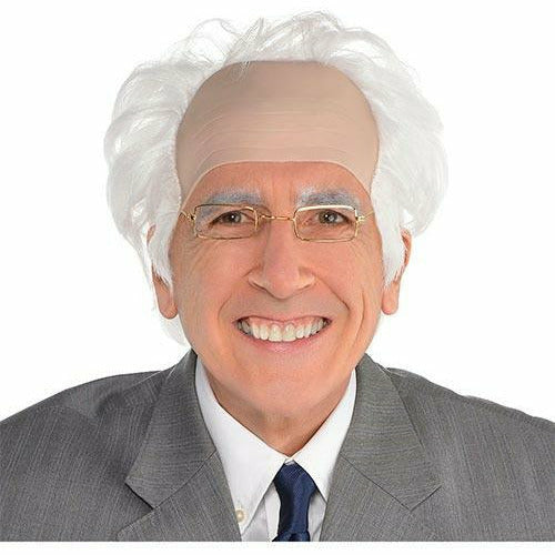 Balding Old Man Wig