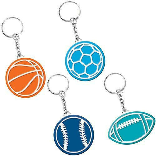 Birthday Baller Keychains 8ct