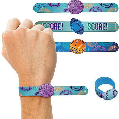 Birthday Baller Slap Bracelets 4ct