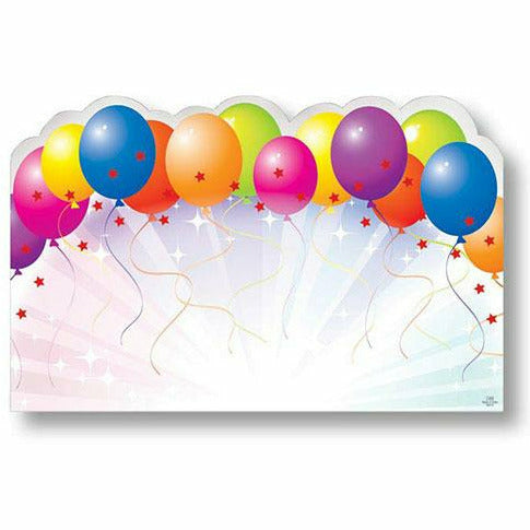 Balloons Rainbow Card