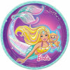 Iridescent Barbie Mermaid Dessert Plates 8ct