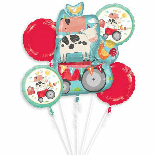 376 Barnyard Farm Balloon Bouqet