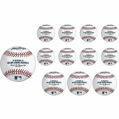 Rawlings Baseball Cutouts 12ct