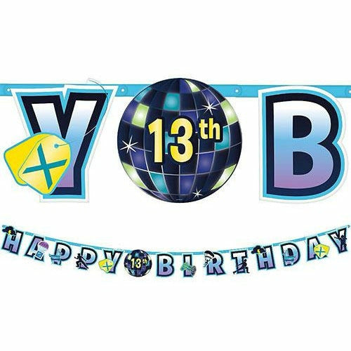 Battle Royal Birthday Banner Kit