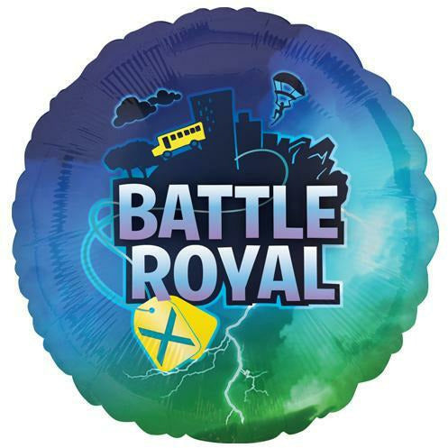"228 Battle Royal 17"" Mylar Balloon"