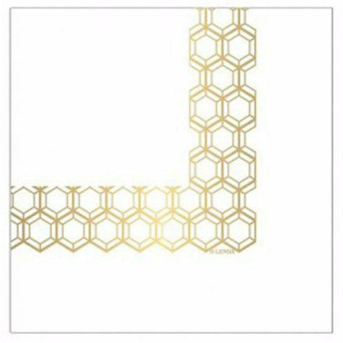 Beverage Napkin (20Ct) - Prismatic Gold