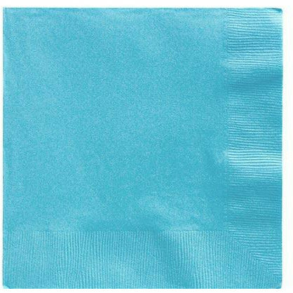 Big Party Pack Caribbean Blue Lunch Napkins 125ct