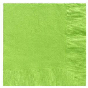 Big Party Pack Kiwi Green Beverage Napkins 125ct