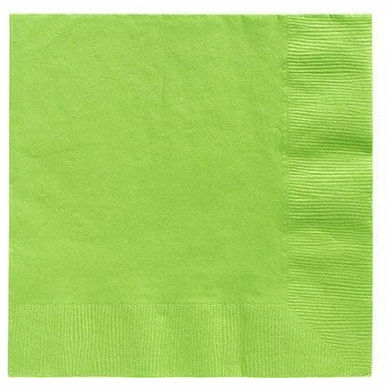 Big Party Pack Kiwi Green Lunch Napkins 125ct