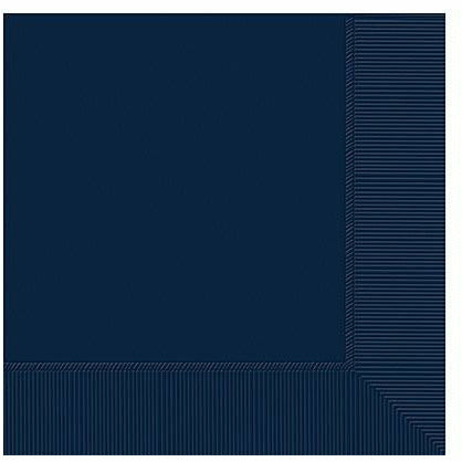 Big Party Pack True Navy Blue Lunch Napkins 125ct