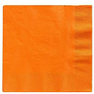 Big Party Pack Orange Beverage Napkins 125ct