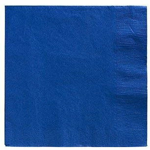 Big Party Pack Royal Blue Beverage Napkins 125ct