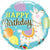 "287 Llama Happy Birthday 18"" Mylar Balloon"