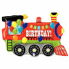 "B011 Train Happy Birthday Jumbo 37"" Mylar Balloon"