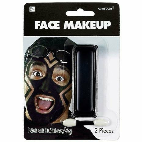 Black Face Paint Makeup