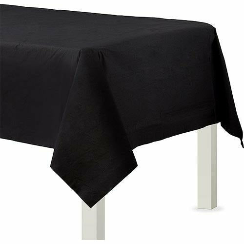 Black Paper Table Cover
