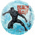 "207 Black Panther 18"" Mylar Balloon"