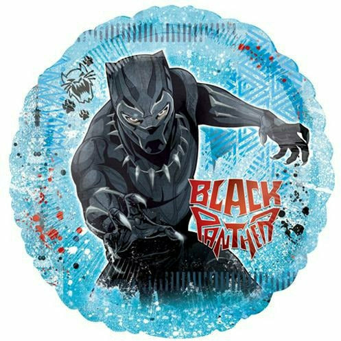 "A015 Black Panther Jumbo 28"" Mylar Balloons"