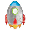 "235 Rocket Jumbo 29"" Mylar Balloon"