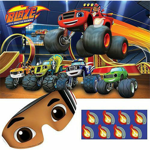 Blaze and the Monster Machines Party Game 10pc