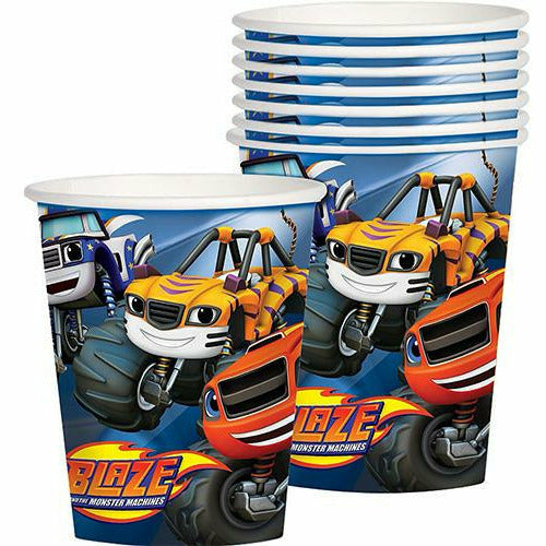 Blaze and the Monster Machines Cups 8ct