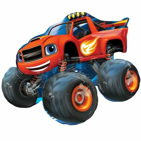 "179 Blaze and the Monster Machines Jumbo 34"" Mylar Balloon"