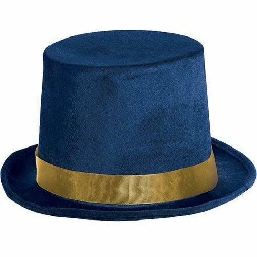 Blue & Gold Top Hat