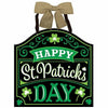Bow Happy St. Patrick's Day Sign