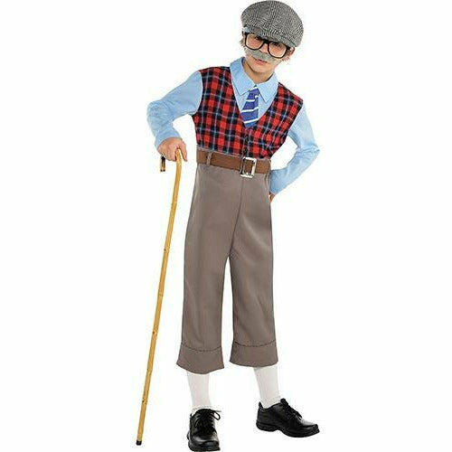 Boys Old Geezer Costume