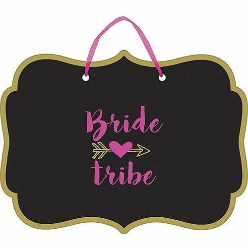 Bride Tribe Wedding Sign