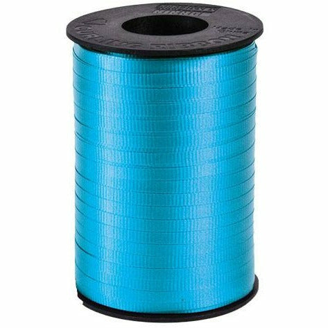 "Teal Curling Ribbon 3/16"" x 500 Yards"