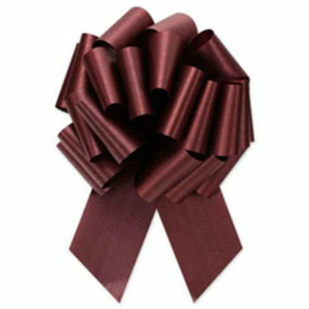 Burgundy Pull Bow 8in