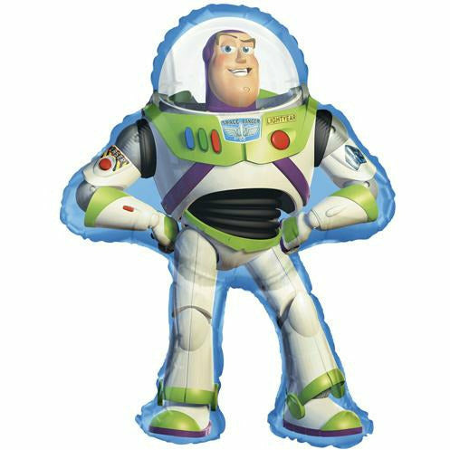 "177 Buzz Lightyear Toy Story Jumbo 34"" Mylar Balloon"
