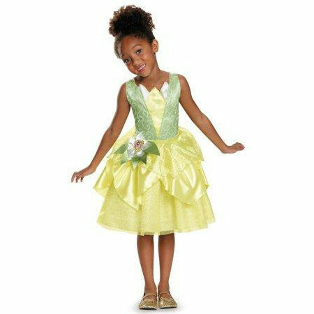Girl Disney Princess Tiana Dress - Princess and the Frog