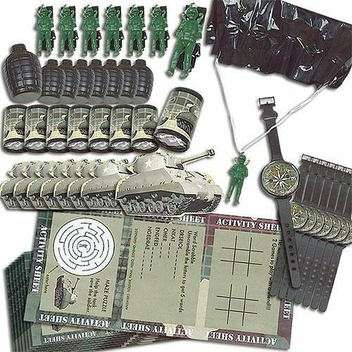Camouflage Favor Pack 48pc
