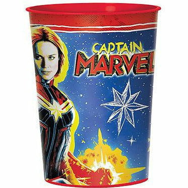 Captain Marvel Favor Cup