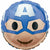 "206 Captain America Emoji 17"" Mylar Balloon"