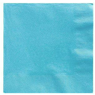 Caribbean Blue Beverage Napkins 50ct