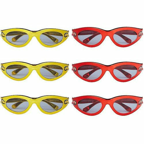 Cars 3 Sunglasses 6ct