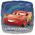 "159 Lightning McQueen Cars 3 17"" Mylar Balloon"