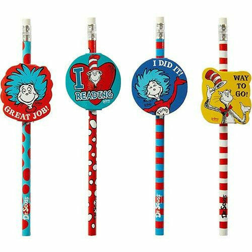 Cat in the Hat Pencils 12ct - Dr. Seuss