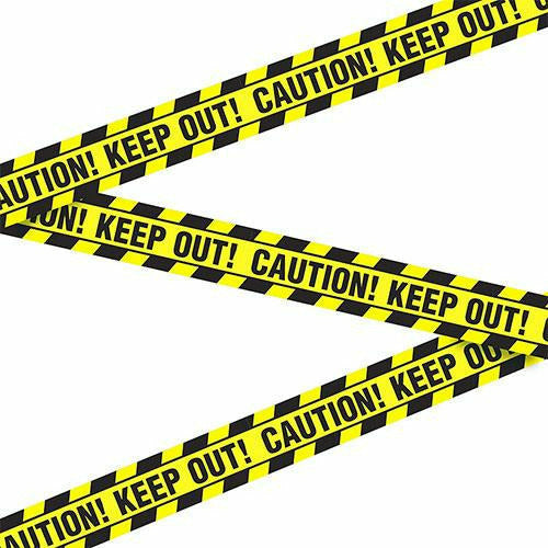 Caution Keep Out Tape