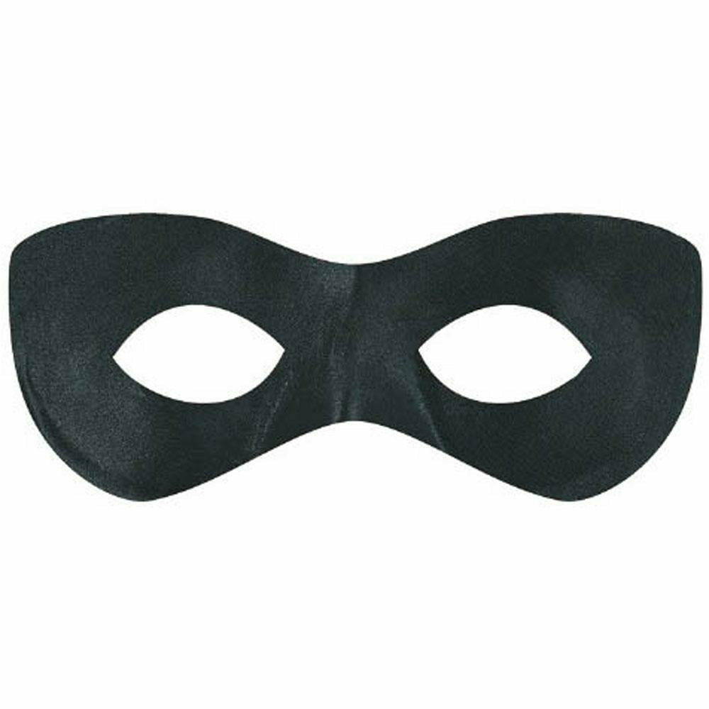 Black SuperHero Mask
