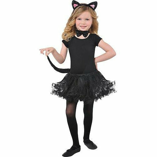 Child Glitter Cat Accessory Kit